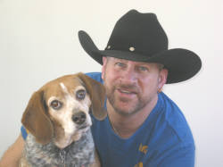 Julian Austin & Baxter, the Beagle Boy